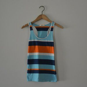 Margret by be cool Turquoise Blue Tank Size Medium